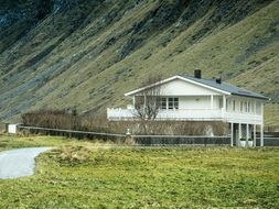 rural house Lofoten Norway