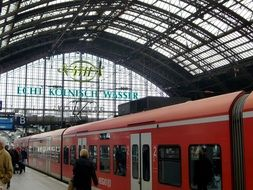 railway station in cologne