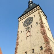 clock tower in Speyer