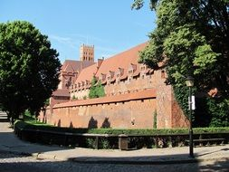 castle as a monument of architecture in poland