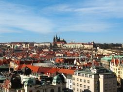 Panorama city, Prague