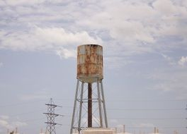 Industry Water Tower