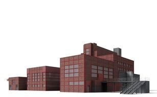 bill zollverein red building