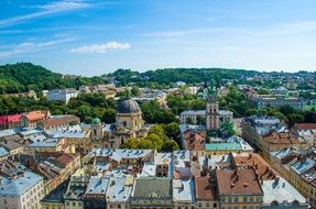Beautiful Lviv in Ukraine