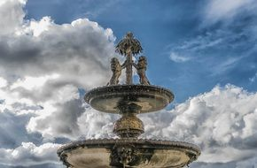 Fountain from Middle ages