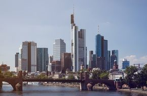 Frankfurt Skyline City