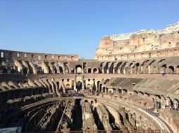 Italy Colosseum amphitheater