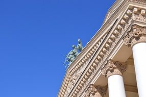 Bolshoi Theatre roof