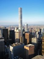 the tallest luxury residence in the world in manhattan