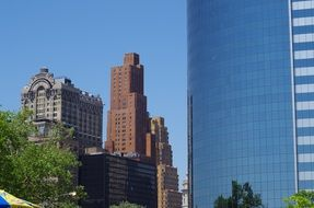 New York City megalopolis of contrasts