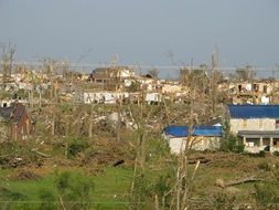 Joplin tornado destructions