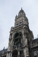gothic historic building in munich