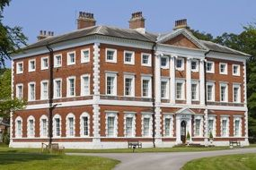Lytham Hall, Georgian country house, uk, england, lancashire