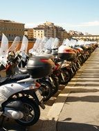 Florence Street moped parking