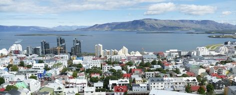 port city in iceland