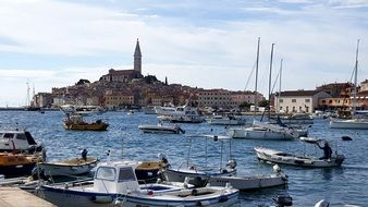 sea city Rovinj, Croatia