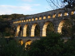 Pont Du Gard France Architecture