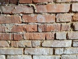 Wall Bricks Rough Dark
