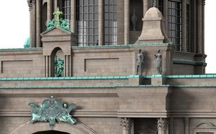 Berlin Dom Cathedral sculptures
