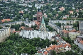 View Of The Buildings Of Wroclaw