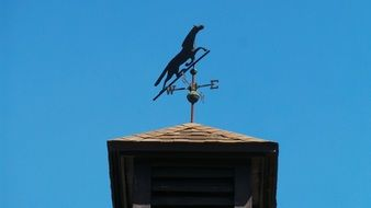 Black Weather Vane
