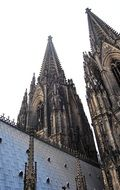 Cologne Cathedral with a double tower