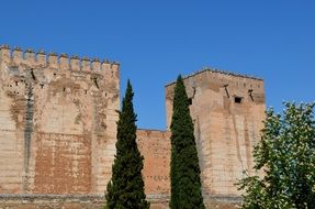 Fortress Walls Of The Middle Ages