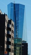 ECB Bank skyscrapers