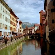cityscape of Annecy France