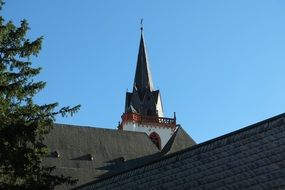 catholic Basilica St Martin Bingen Church in Germany