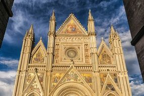 beautiful cathedral building in Italy