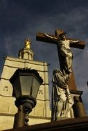 Crucifix Avignon city of the popes