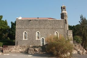 Church in Tiberias, Israel
