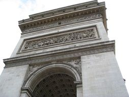 architectural structure in paris