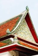 Thailand temple architecture