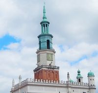 tower on the old market in poznan
