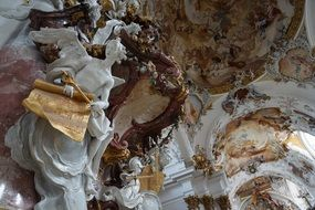 baroque church art