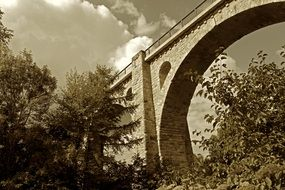 Old Bridge with Arch