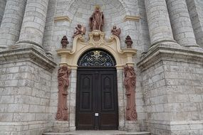 Zwiefalten Church entrance