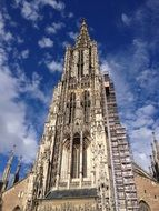 Ulm Cathedral in Münster on a sunny day