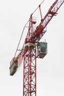 top construction crane