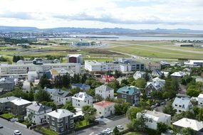 Picture of Reykjavik city