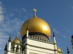 unusual Singapore Mosque