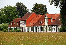 Ludwigslust-Parchim home in a meadow