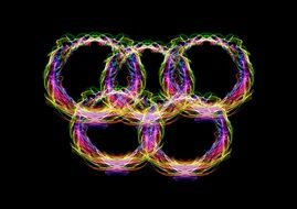 Rings Color Olympia Olympiad
