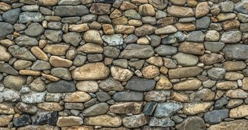 stone fence wall