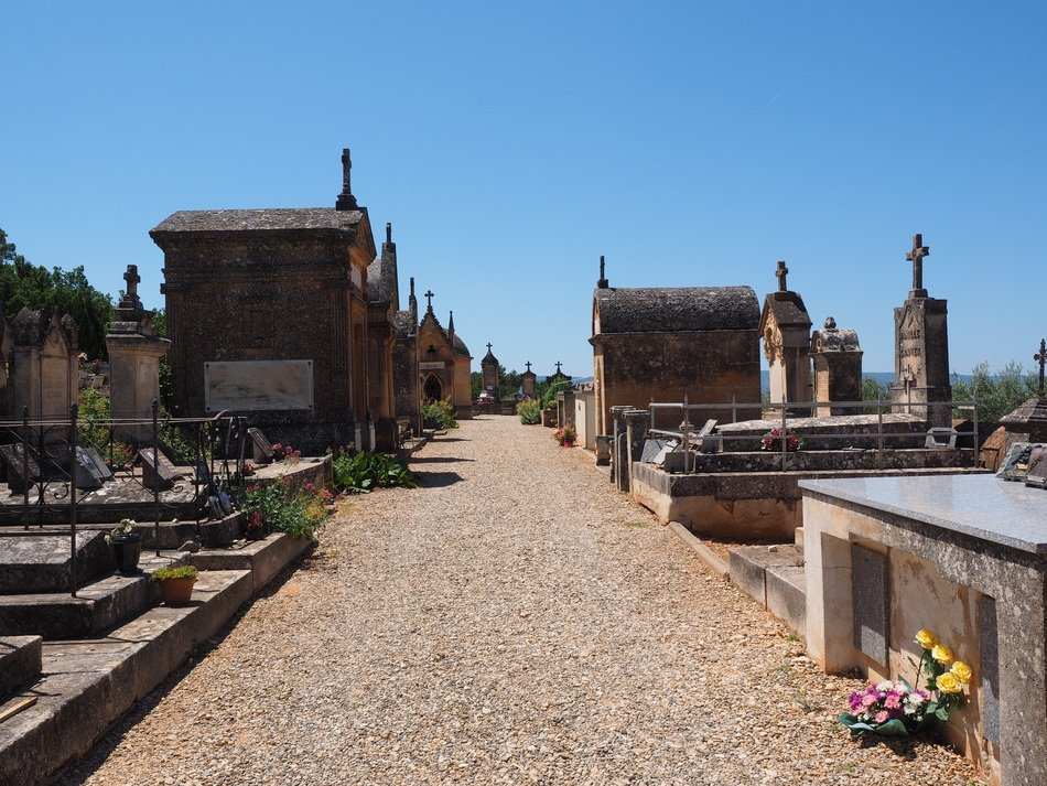 Cemetery roussillon