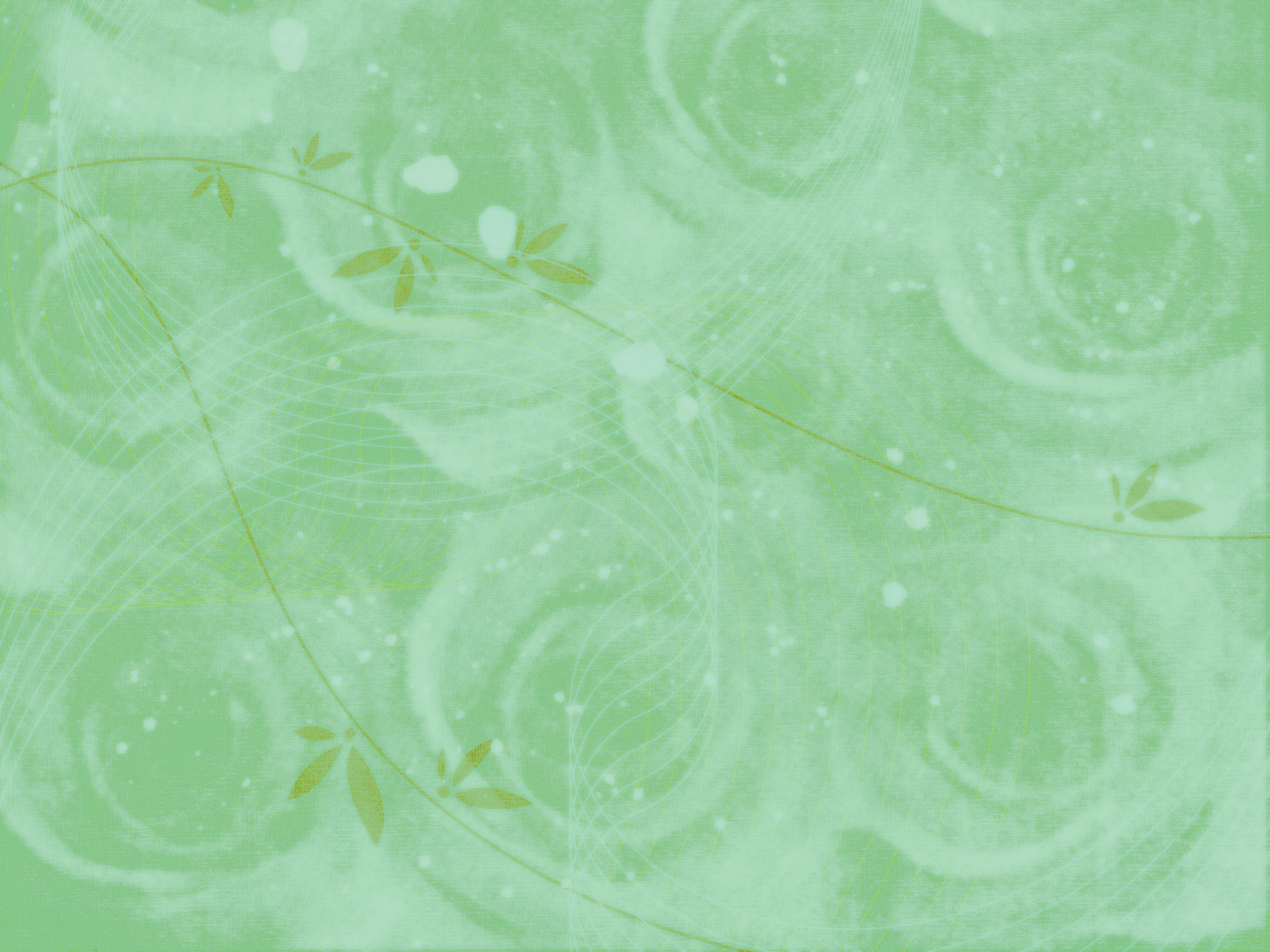 Pale Green Background With Roses Pattern Free Image