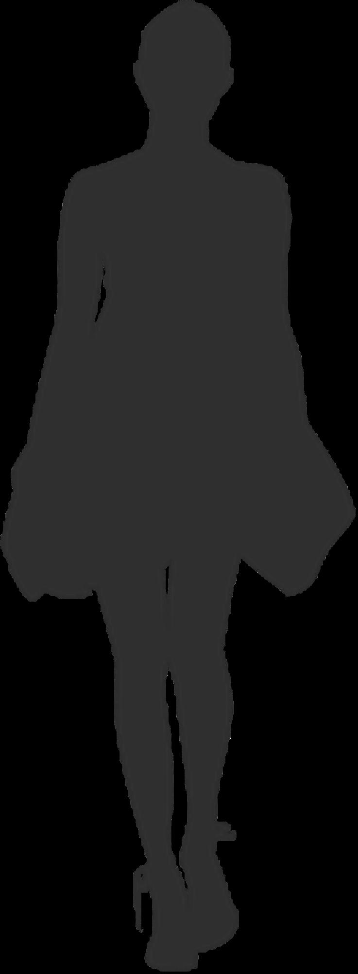 fashion silhouette description - 737×2000