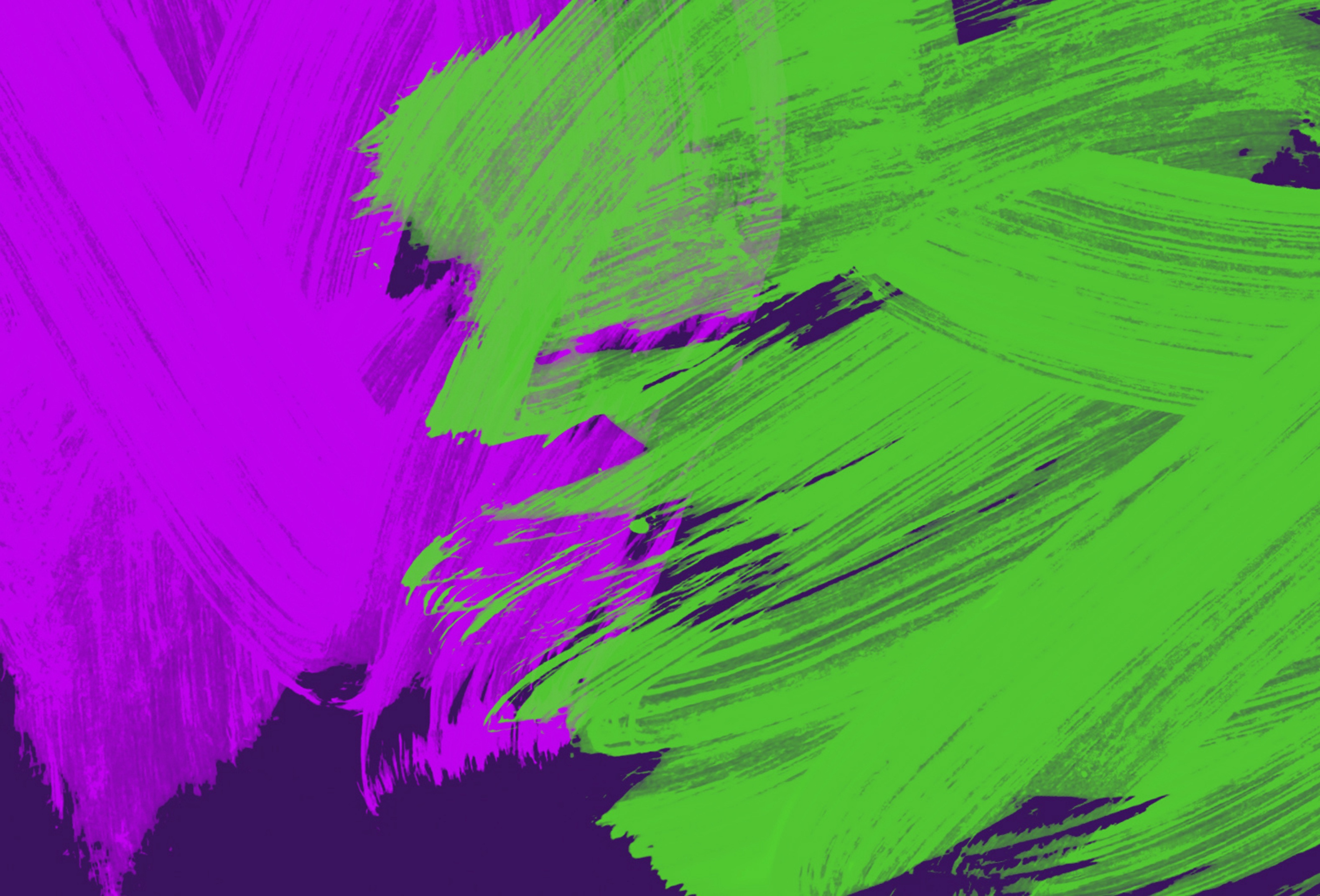 Background with neon purple and green touches free image